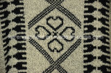 Vêtements aztèques de l'hiver de chandail de poncho tricotés par femmes