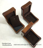 Neuer Entwurfbrown-hölzerner Halsketten-Paket-Kasten