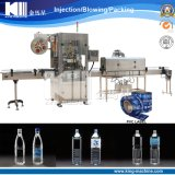 Automatische Belüftung-Hülsen-Etikettiermaschine für Getränkeflasche