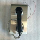 Parede-Montar o Ce resistente do telefone Knzd-10 do vândalo do intercomunicador do monofone complacente