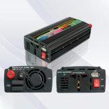 inversor modificado AC220V/110 do poder de onda do seno de 600W DC12V/24V com carregador do UPS