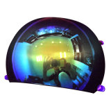 Izh005パソコンのRevoのコーティングの表面堅くなるAnti-Fog安全ヘルメットの光学レンズ