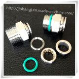 PC do aço inoxidável 12-02 encaixes pneumáticos
