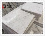 Azulejo de mármol de mármol blanco de Italia Bianco Carrara