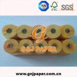 Papier thermosensible de position de douceur élevée avec le noyau en plastique