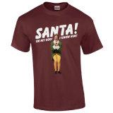 T-shirt drôle de Noël de 2016 Mens promotionnels chauds de vente (A236)