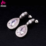 도매 형식 다이아몬드 최신유행 지르콘 거는 장식 못 귀걸이 보석