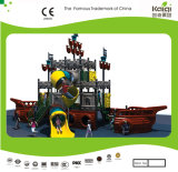 Kaiqi는 매체 치수를 쟀다 Slides (KQ20081A)를 가진 Pirate Ship Themed Children Outdoor Playground를