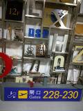 Metro van de Binnen Binnenlandse Aangepaste LEIDENE van de Post Signage van Wayfinding Ingang van de Uitgang