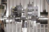 Centro fazendo à máquina do CNC CDS-52 (torno do CNC)