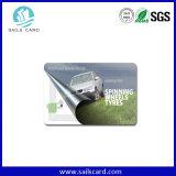 Cartão Ultralight do bilhete do transporte de Mfifare C RFID ou único símbolo do desengate