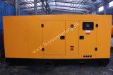 Cummins-wassergekühlter Motor-super leiser Diesel, der Station 300kw/375kVA festlegt