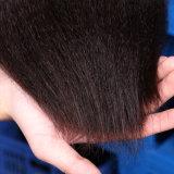 El pelo recto de Yaki lía el pelo humano de la armadura del pelo indio sin procesar de Remy