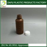 Sirup 60ml PET Plastikflasche mit Kippen-Oberseite-Schutzkappe