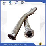 Mangueira ondulada trançada de aço do metal flexível do fabricante