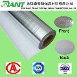 Papier d'aluminium latéral simple d'exportateur tissé