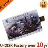 Memória Flash média especial do USB do cartão de crédito da corrediça (YT-3111L)