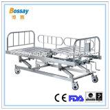 1台の年の保証の手動ベッドの調節可能で忍耐強いベッド