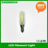 Bulbo del filamento de T25 LED E14