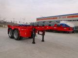 Трейлер скелета контейнера Axle 20FT Hubei Dongrun 2