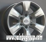 F20282銀製の仕上げおよび6つ、8つ、10の穴の縁および車輪