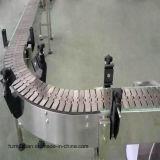 Convoyeur à chaînes de vitesse de plaque réglable de lamelle