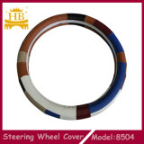 Nuovo Fashion 38cm Fiber Leather Car Steering Wheel Cover
