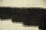 Chandail tricoté Zèbre-Rayé de femmes long