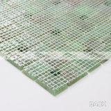 Mosaico di vetro della fusione calda verde muscosa del reticolo del mulino a vento (BGZ017)
