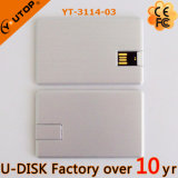 тонкий привод вспышки USB кредитной карточки металла 1-64GB (YT-3101-03)