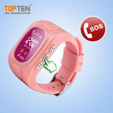 GPS Watch Tracker für Kids Anti-Kidnapping mit PAS Button Wt50-Ez