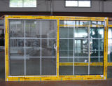 Kz309 Glijdende Venster van het Aluminium van het Slot van de Goede Kwaliteit het Poeder Met een laag bedekte Toenemende met Net