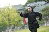Capas oblicuas del collar del resorte de la ji de Wudang Tai del Taoism y del lino del verano