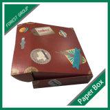 Vente en gros ondulée de boîte-cadeau faite sur commande de carton de double porte