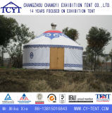 Barraca Mongolian de Yurt do evento de bambu de alumínio durável
