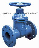 Pn16 Ductile Iron Resilient Seated Gate Valve para PVC Pipes