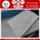 Flood Control를 위한 Needle 반대로 UV Punched Non Woven 강둑 Used PP Geotextile Bag