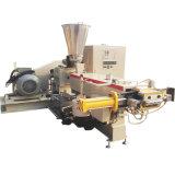 Estirador de tornillo del doble de la alta capacidad para los gránulos plásticos que granulan