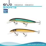 Attrait peu profond réaliste choisi de pêche de pêcheur avec Vmc les crochets triples (SSB160310)
