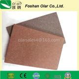 La tarjeta impermeable del silicato del calcio del Por-Color para el exterior utilizó