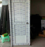 Puerta del cuarto de baño de la concha PVC/UPVC