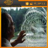 Película protectora del vidrio de ventana de la seguridad de la prueba de fragmento