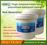 Vivo impermeable del solo poliuretano a base de agua componente
