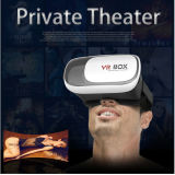Vidrios de la cartulina 3D de Google de la caja 2.0 de la realidad virtual del receptor de cabeza de Vr