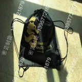 Sac promotionnel de cadeau de cordon du nylon 190t 210d de polyester de sac à dos de sac