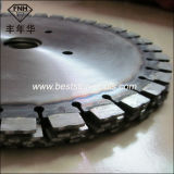 CB-2 다이아몬드는 브리지 절단기에 화강암 절단을%s 톱날을