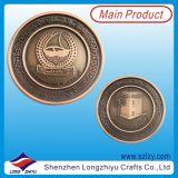 めっきされた旧式な青銅が付いている記念日の硬貨のカスタム硬貨