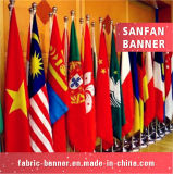 Bandiera nazionale su ordinazione di prezzi di fabbrica di stampa