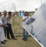Inversor solar da C.A. da C.C. para o sistema solar