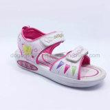 Лето 2016 ботинок сандалий детей сандалий девушок сандалий малышей способа высокого качества вскользь обувает резину Llight PU ботинок впрыски
